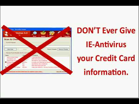 How to Remove IE Antivirus | IEAntivirus Removal Instructions