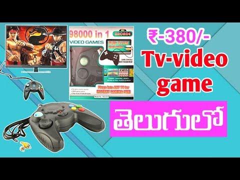98000 In 1 Tv Game 380/-   In Telugu   By Syam   New Mobiletricks  