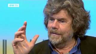 Many consider him the greatest mountaineer of all time, and reinhold messner is certainly not one to do things by halves.