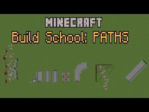 Minecraft Build School - Paths!