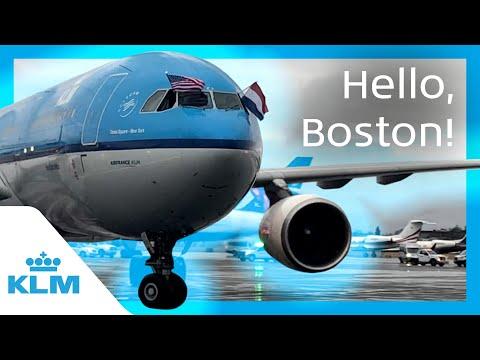 KLM Intern On A Mission - Hello, Boston!