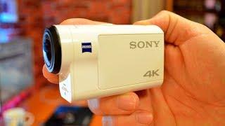 SONY FDR X3000 - Огляд та налаштування камери, приклади відео вдень, вночі, при вітрі