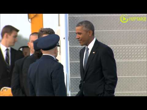 Obama Arrives At NATO Summit In Wales