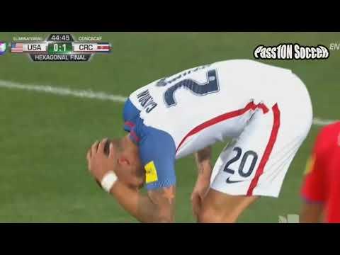 Etats Unis vs Costa Rica  Résumé du match Football  Qualifications World cup 2018