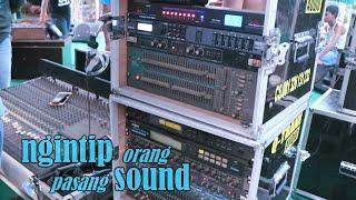 ngintip orang pasang sound system - q-tranx audio pati