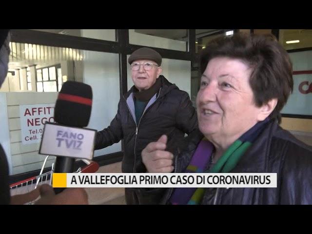 A Vallefoglia primo caso di Coronavirus