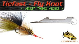 Tie-Fast Fishing Knot Tool -  How To Tie On Fly / Lure Video