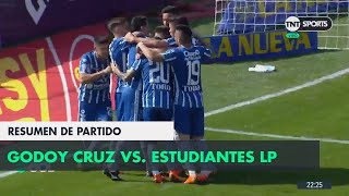 Resumen de Godoy Cruz vs Estudiantes LP (1-0) | Fecha 1 - Superliga Argentina 2018/2019