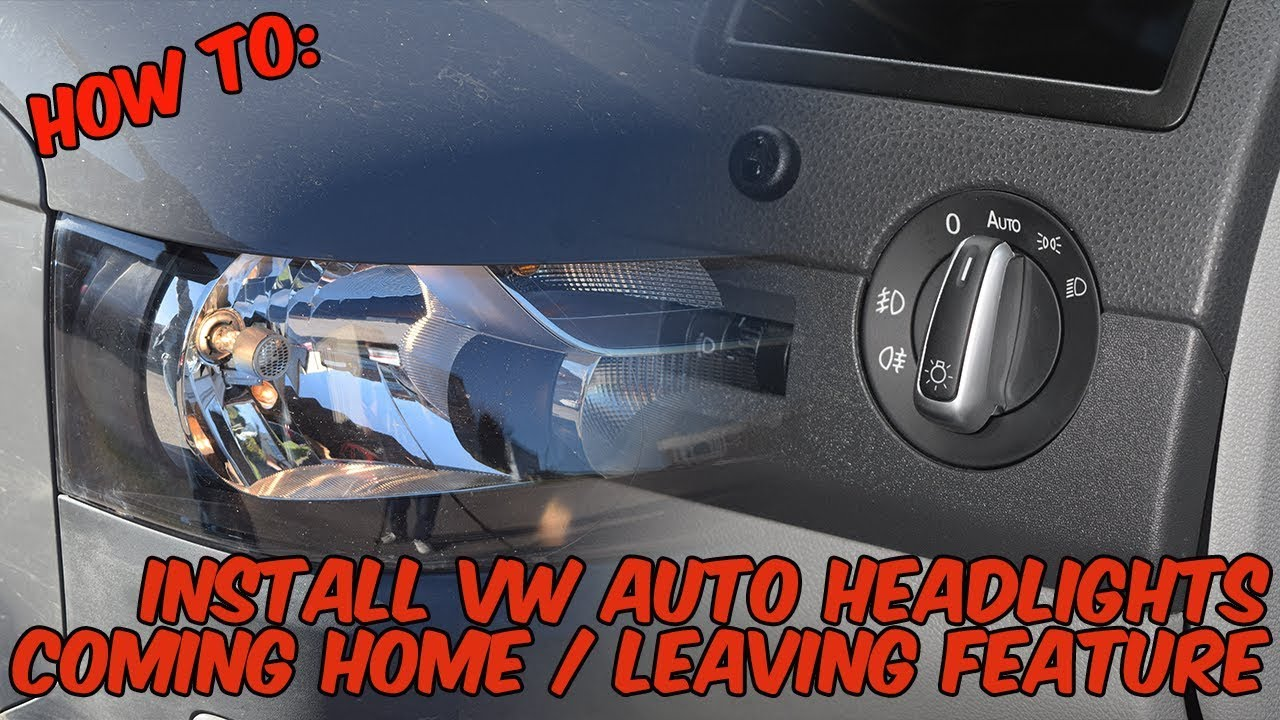 small resolution of how to install volkswagen auto headlights coming home feature