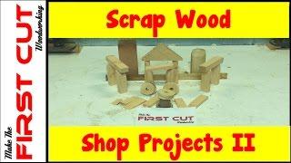 Scrap Wood Shop Projects