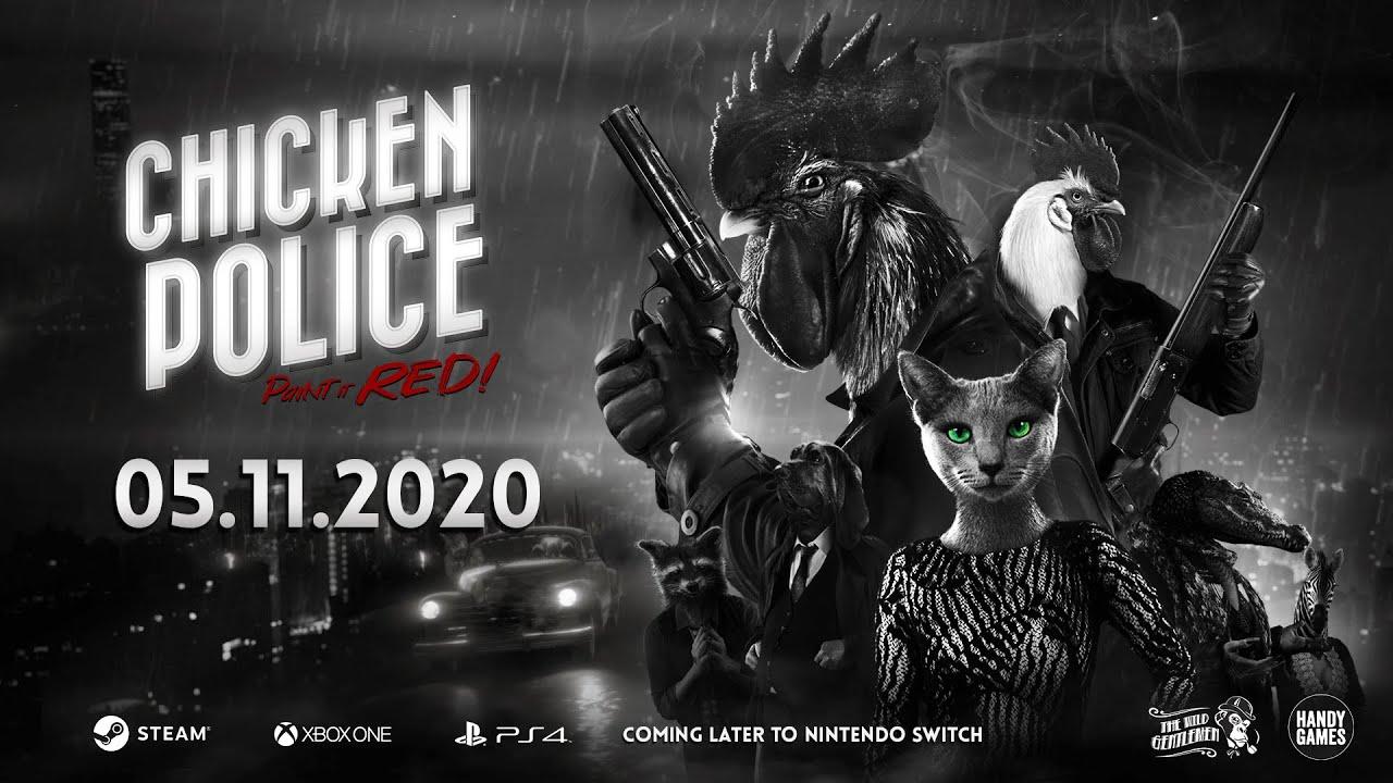Στις 5/11/2020 το Chicken Police