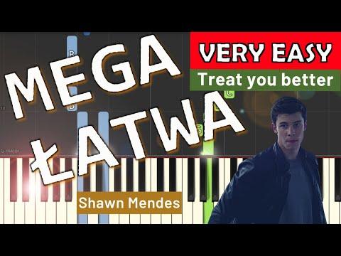 🎹 Treat you better - Piano Tutorial (MEGA ŁATWA wersja) (VERY EASY) 🎹