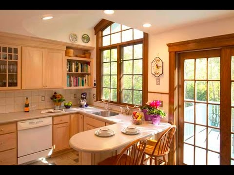 Kitchen Designs For Small Spaces small kitchen design ideas 2016 - youtube