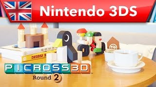 Picross 3D: Round 2 - Overview Trailer (Nintendo 3DS)