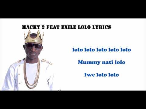 Macky2 Feat Izreal Lolo Lolo |Official video Lyrics| 2015