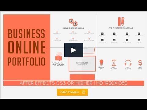 Business Online Portfolio\ - online portfolio template
