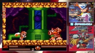 Mega Man Xtreme 2 Zero 100% 21:36 World Record