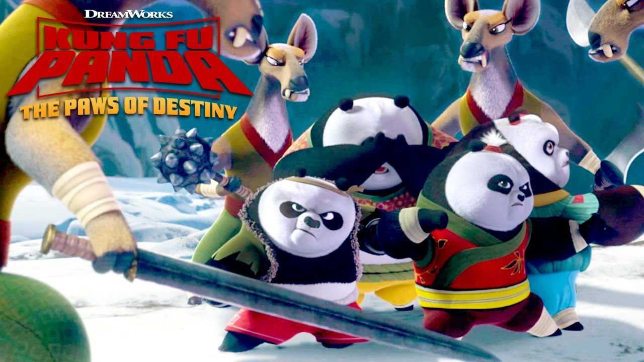 Panda Kids In Trouble Kung Fu Panda The Paws Of Destiny Youtube