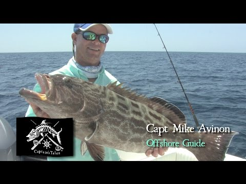 Captains Tales Episode 34 Capt Mike Avinon-Offshore Grouper