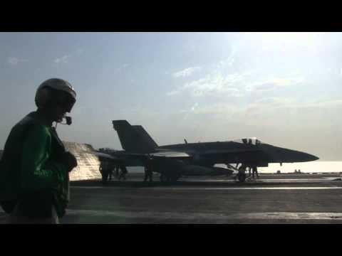 USS George H.W. Bush continues sorties against ISIL