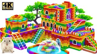 ASMR Video | How To Build Moroccan Style Holiday Castle For Pets From Maget Balls