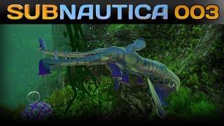 Subnautica [003] [Die große Suche nach Rohstoffen] [Let's Play Gameplay Deutsch German] thumbnail