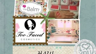 Haul The Balm & Too Faced By Aliexpress
