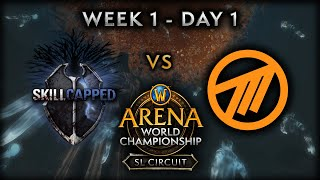 Skill Capped vs Method EU | Week 1 - Day 1 | AWC SL Circuit