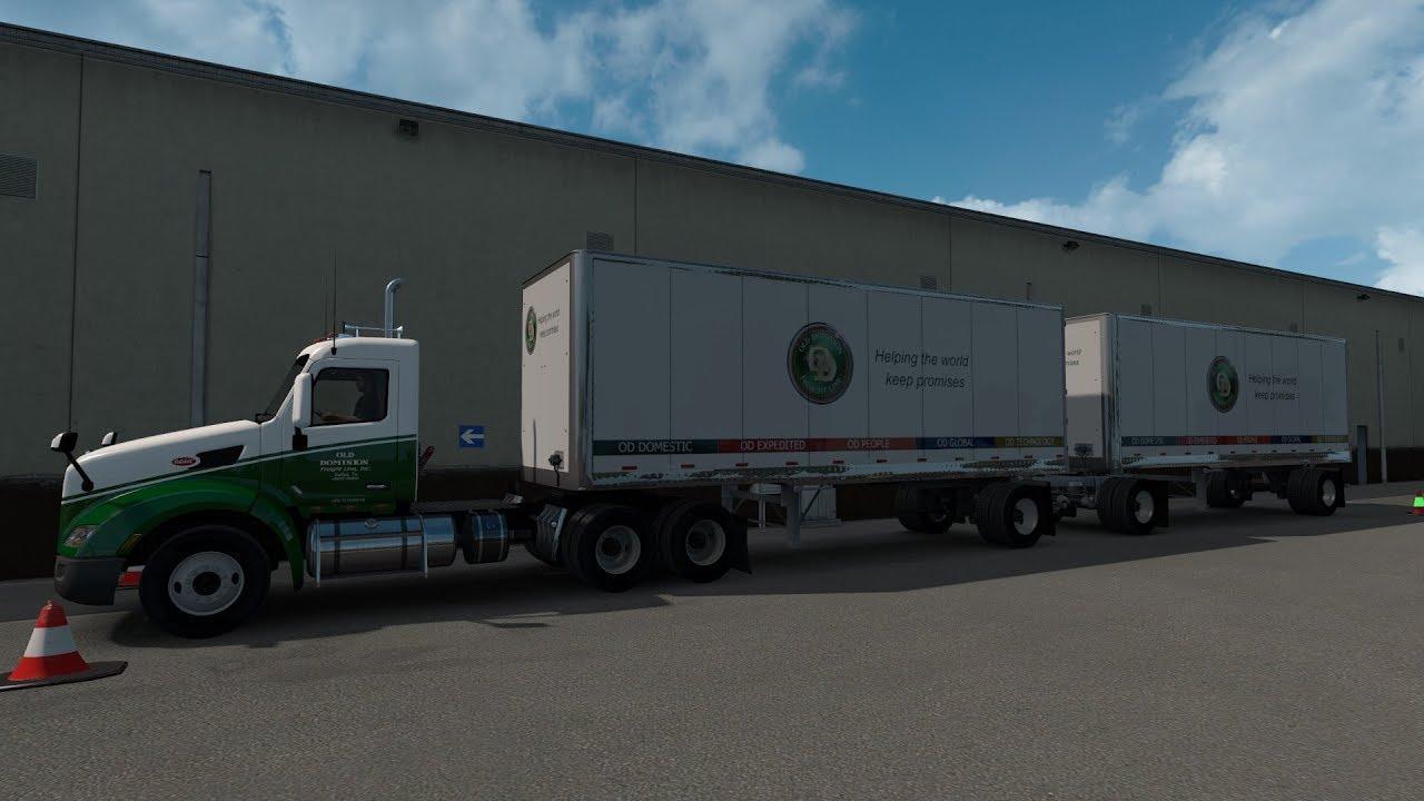American Truck Simulator 579 Peterbilt Old Dominion ...