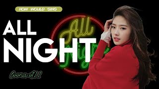 how would loona ot11 sing all night from snsd - Stafaband