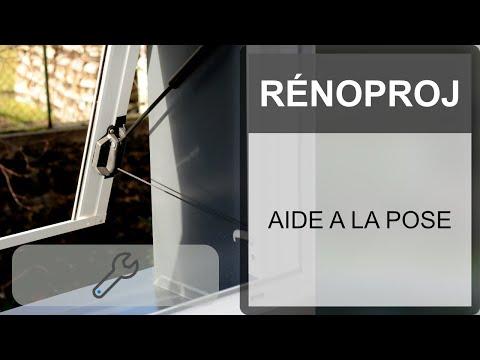 Vidéo de pose volet roulant projection