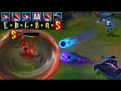 LEAGUE OF SAMIRA MONTAGE - The Best Calculated Samira Outplays