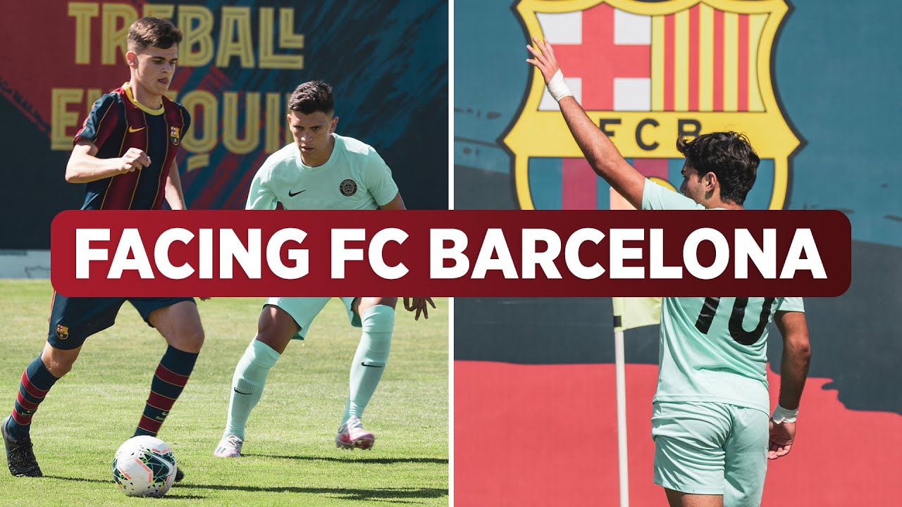 Download Facing FC Barcelona Academy | La Masia | Story Of The Match | #FCMC