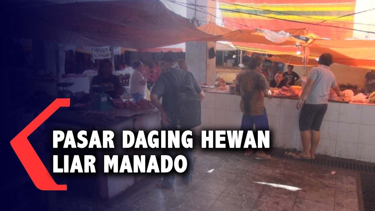 Mirip Wuhan Pasar Di Indonesia Ini Juga Menjual Daging Hewan Liar