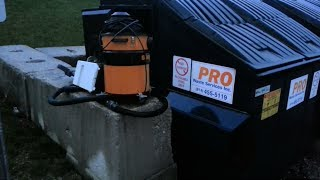 6b0930487ac Dumpster Dive 2014 - Industrial Shop Vac + Toaster Oven