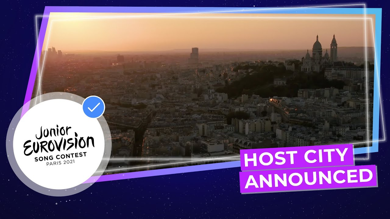 Junior Eurovision 2021 will take place in Paris!