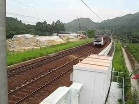 Two KCR EMU Two KCR EMU - Refurbished Stock in Kau Lung Hang