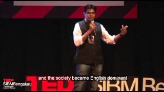 Hindi is Cool Yaar!   Divya Prakash Dubey   TEDxSIBMBengaluru