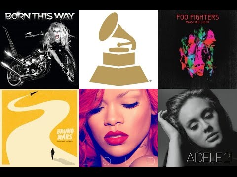 Grammy 2012 winners & nominations