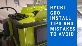 Ryobi Garage Door Opener Installation 2019 installation mistakes to avoid