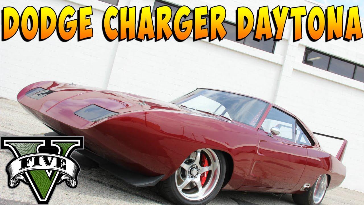 Gta V Dodge Charger Daytona Carro Do Filme Fast And