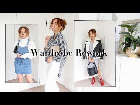 Autumn outfits you already own   WARDROBE RE-WORK
