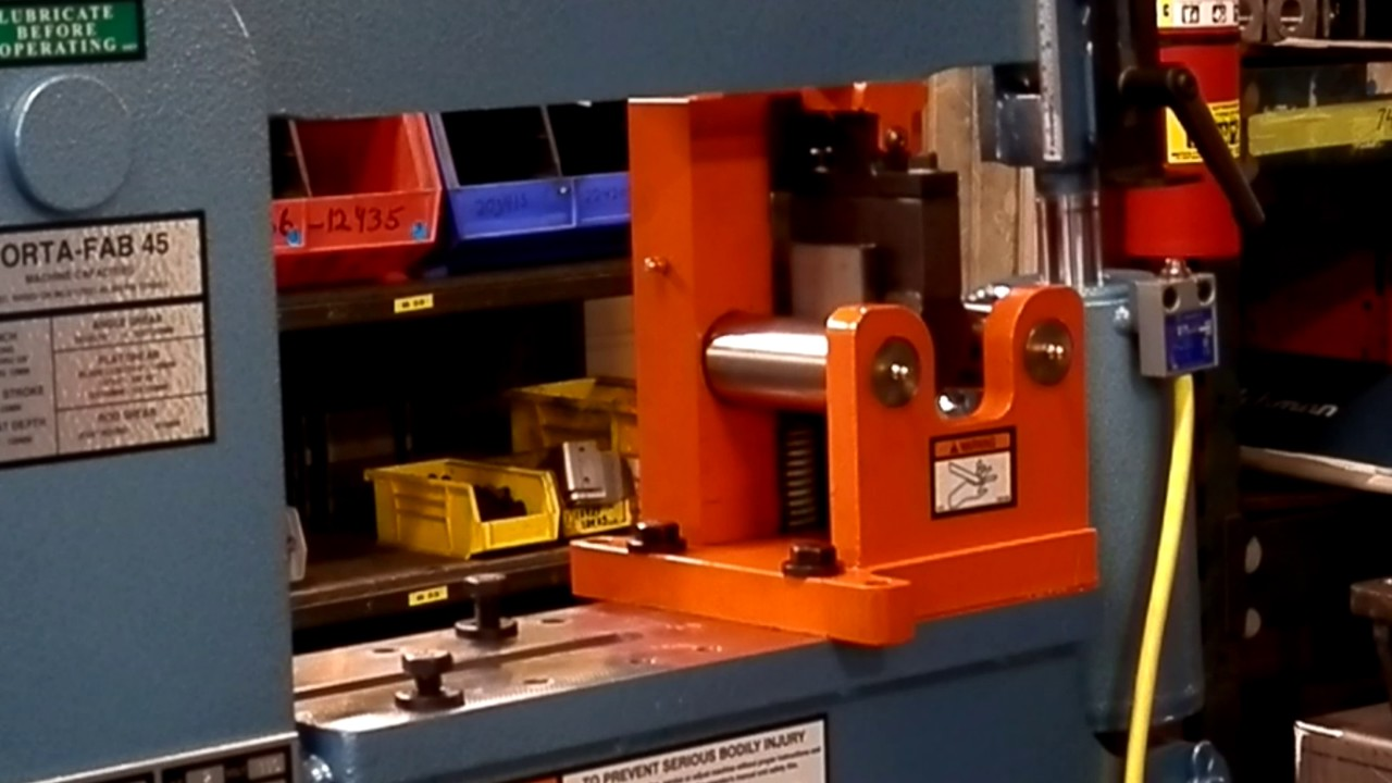 Scotchman Weld Coupon Bend Tester - Ironworker tooling for Porta-Fab 45 -  USA Made