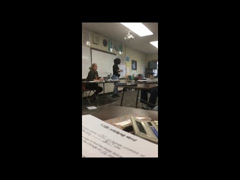 Angry Mother Confronts Middle School Students Over Allegedly