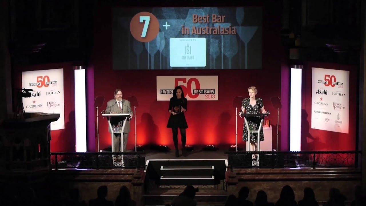 World's 50 Best Bars awards - London, One Mayfair 2013 ...
