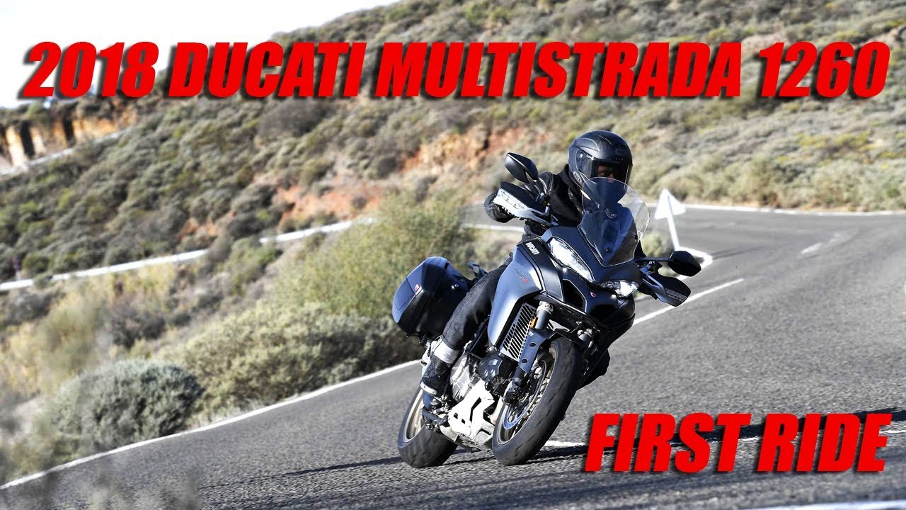 2018 Ducati Multistrada 1260 First Ride Review - Dauer: 4 Minuten, 2 Sekunden