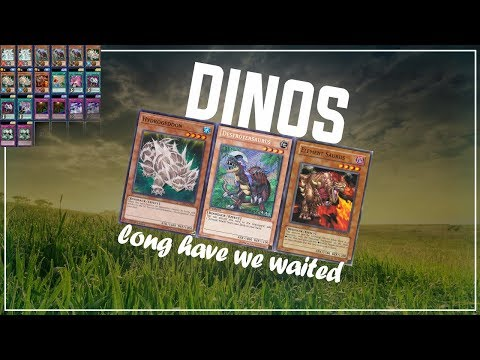 [Yu-Gi-Oh! Duel Links] Wanna Be Stomped? Or Stamped? | tekumse's Dinos | King of Games