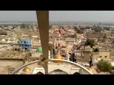 TOP TOMB VIEW OF SEHWAN SHARIF DARGAH 2017