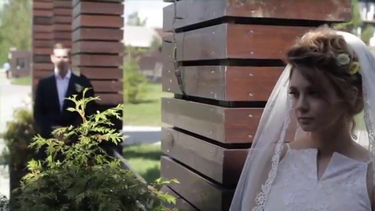 Летняя нежная свадьба в стиле рустик Кати и Сергея