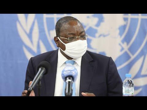 MINUSCA: conférence de presse de Mankeur Ndiaye